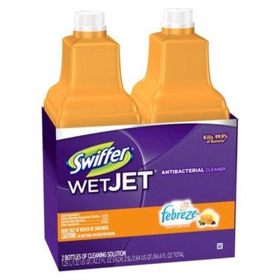 Swiffer WetJet Antibacterial Cleaner Solution Refills 2 pk