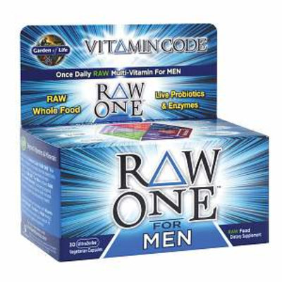 Garden of Life Vitamin Code Raw One Multi-Vitamin  for Men