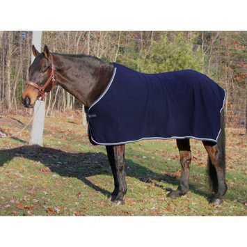 Jpc Equestrian TuffRider Fleece Dress Sheet Navy, 80 in.