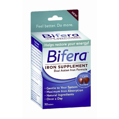 Bifera Iron Supplement, 30 Tablets