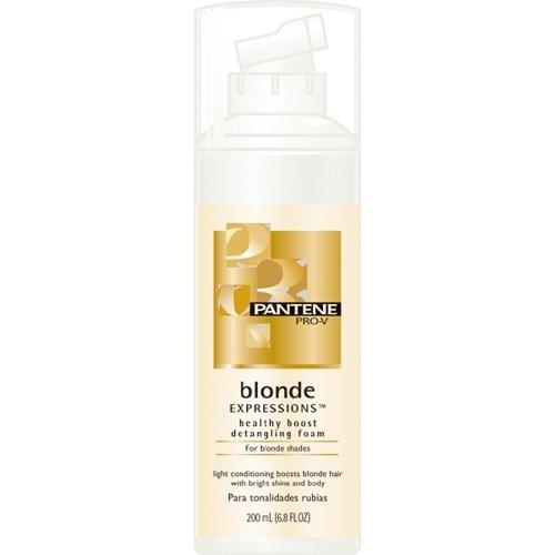 Pantene Pro-V Blonde Expressions Healthy Boost Detangling Foam for Blonde Shades , 6.8 fl oz (200 ml)