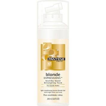 Pantene Pro-V Blonde Expressions Healthy Boost Detangling Foam for Blonde Shades