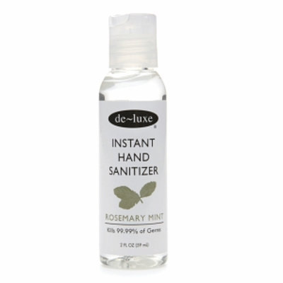 de-luxe Travel Sized Instant Hand Sanitizer