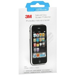 3M Natural View Screen Protectors for Apple iPhone 3Gs