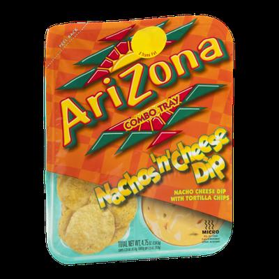 AriZona Combo Tray Nachos n Cheese Dip