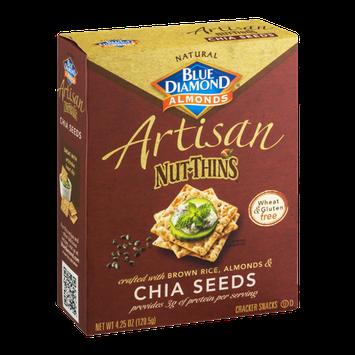 Blue Diamond Gluten Free Artisan Nut-Thins Chia Seeds