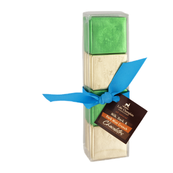 Lake Champlain All Natural Milk, Dark, & Dark Mint Crunch Chocolates