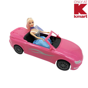 Agglo/ja-ru Corp. Just Kidz Mustang and Doll - Pink