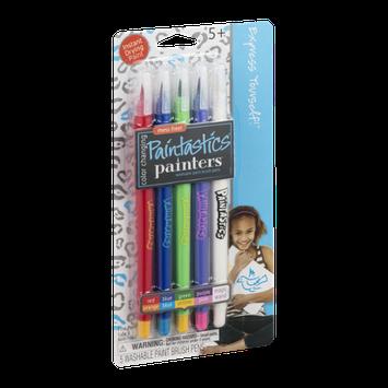 Painters Paintastics Washable Paint Brush Pens Color Changing - 5 CT