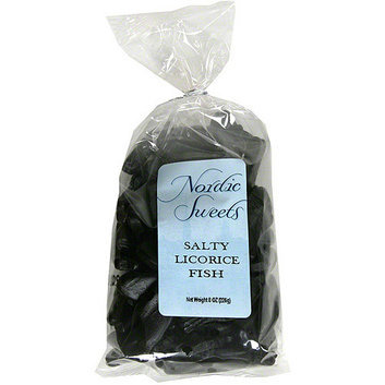 Nordic Sweets Salty Licorice Fish