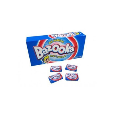 Bazooka Original Bubble Gum, 120-Count Gum Pieces (Pack of 3)