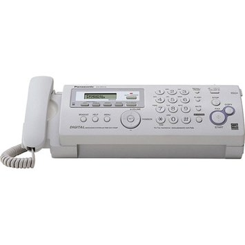 Panasonic Compact Fax/Copier Machine with Answering System - White