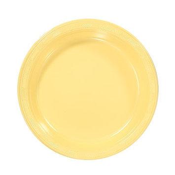 Hanna K Signature Hanna K. Signature 81370 7 in. Yellow Plastic Plate - 600 Per Case