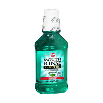 Walgreens Mouth Rinse Antiseptic Liquid Spring Mint