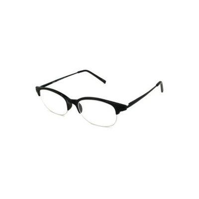 NVU Eyewear Reading Glasses - Stuyvesant Shiny Black / STUYVESANT BLACK +3.25-STUYBLACK325