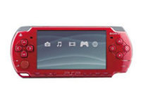 Sony PSP System 2000 - God of War: Chains of Olympus Red (ReCharged Refurbished)