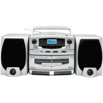 Supersonic AM/FM Double Cassette CD Player SC-2020CD