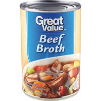 Great Value: Ready To Serve Beef Broth, 14.5 Oz