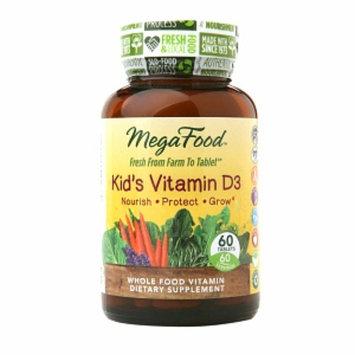 Megafood MegaFood Kid's Vitamin D3, Tablets, 60 ea