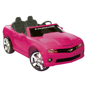 National Products LTD. Kid Motorz Chevrolet Camaro 12V Two Seater Ride On - Pink