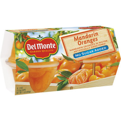 Del Monte No Sugar Added Mandarin Oranges in Artificially Sweetened