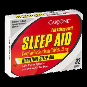 CareOne Nighttime Sleep Aid Tablets - 32 CT