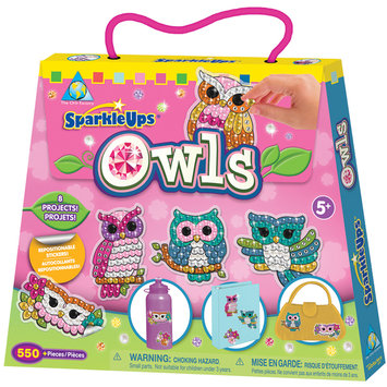 SparkleUps Owls by Orb Factory