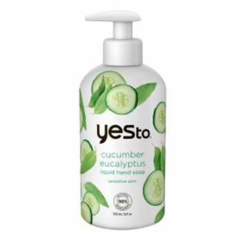 Yes to Cucumbers Eucalyptus Liquid Hand Soap, 12 fl oz