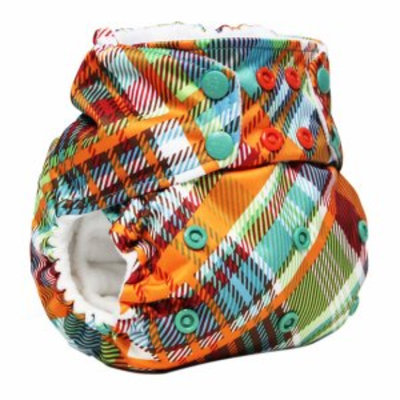 Kanga Care Rumparooz One Size Cloth Pocket Diaper, Quinn Plaid Snap, 1 ea
