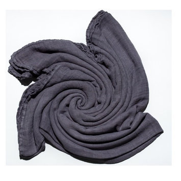 Austin Tie Dye Co Bamboo Swaddle Blanket for Babies - Earl Grey