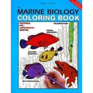 The Marine Biology Coloring Book (Paperback)