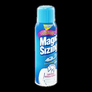 Magic Sizing Light Body Fresh Clean Scent! Fabric Finish