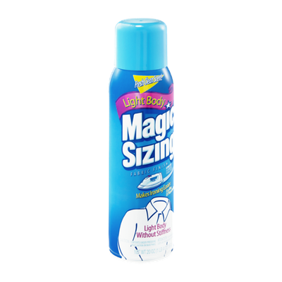 Magic Sizing Light Body Fresh Clean Scent! Fabric Finish