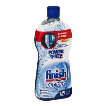 Finish Rinse Aid Jet-Dry Power & Free