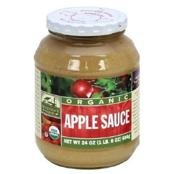 WODSTK Woodstock Farms Applesauce, 24-Ounce (Pack of 12)