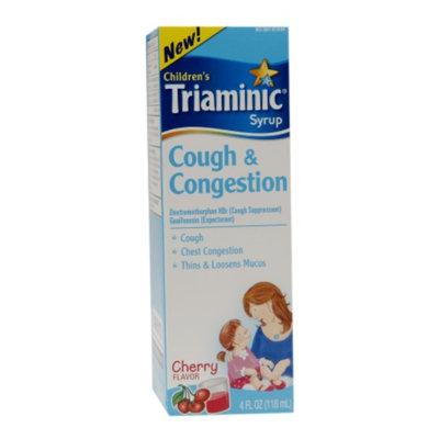 Triaminic Children's Cough & Congestion Liquid, Cherry, 4 fl oz