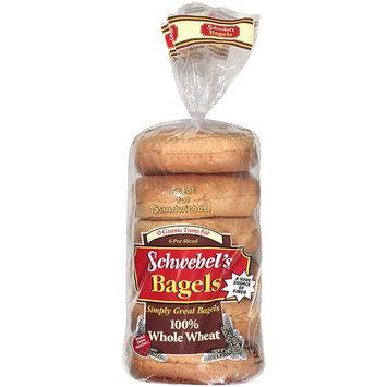 Schwebel's Schwebel?s 100% Whole Wheat Bagels, 15 oz