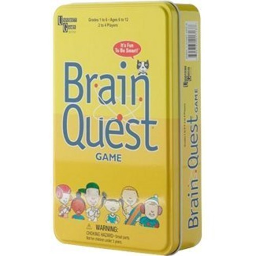 Brain Box Brain Quest Travel Card Game