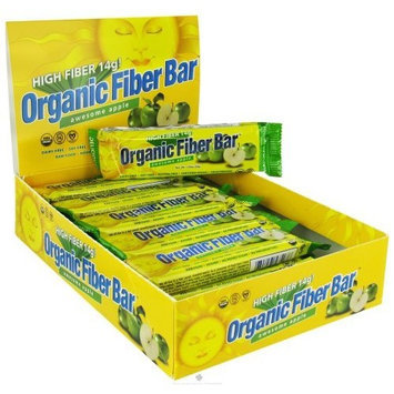 Renew Life Organic Fiber Bar Awesome Apple - Bar - 1 - Bar