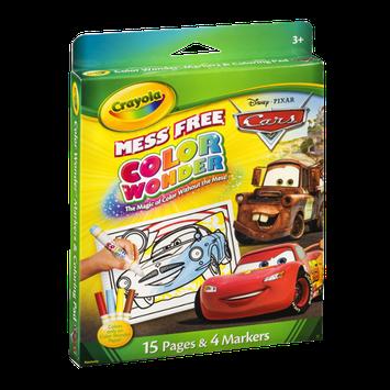 Crayola Disney Pixar Cars Color Wonder Mess Free