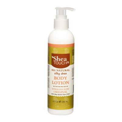 Shea Touch STBL002 Silky Shea Body Lotion Somalian Rose Original 8 Fl oz/236 Ml
