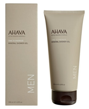 AHAVA Men Time to Energize Mineral Shower Gel