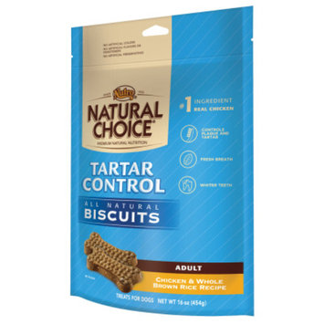 Nutro Natural Choice NUTROA NATURAL CHOICEA Tarter Control Adult Dog Biscuit