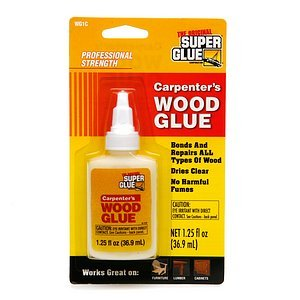 The Original Super Glue Corporation Carpenter's Wood Glue
