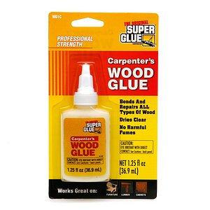 The Original Super Glue Corporation Carpenter's Wood Glue