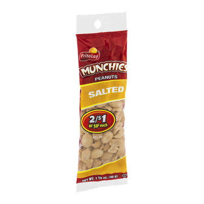Frito Lay Munchies Peanuts Salted
