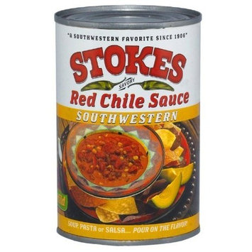 Hatch Chile Company Stokes Red Chile Sauce Southwestern, 15-Ounce