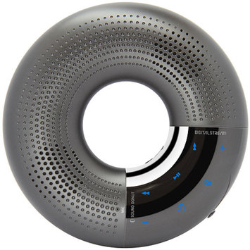 Digital Stream Sound Donut Bluetooth Wireless Personal Audio Speaker and Speakerphone