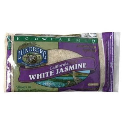 Lundberg Family Farms Rice, Jasmine, California White, 2 LB (Pack of 6)