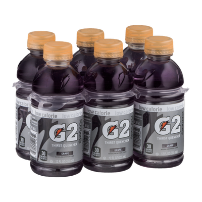 Gatorade G2 Thirst Quencher Grape - 6 CT